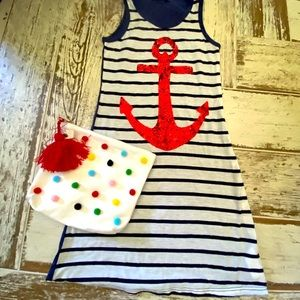 CUTIE COMBO ⚓️NWT....ADORABLE dress and purse